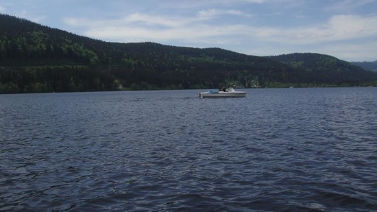 Treschers Schwarzwald Romantik Hotel: wonderful & nice tour with an electronic boat