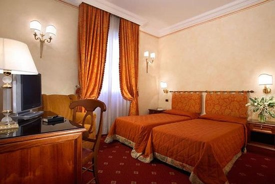 Grand Hotel Hermitage : Guest Room