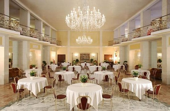 Grand Hotel Hermitage : Breakfast Room