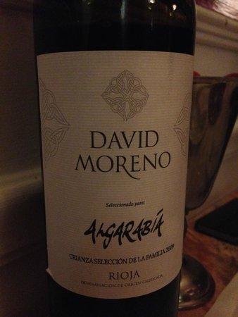 Restaurante Algarabía: the house wine!