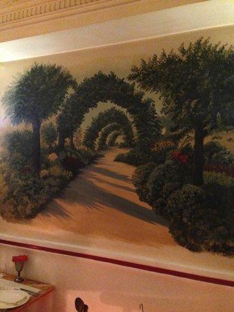 Restaurante Algarabía: mural