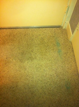The Preston County Inn: carpet stains
