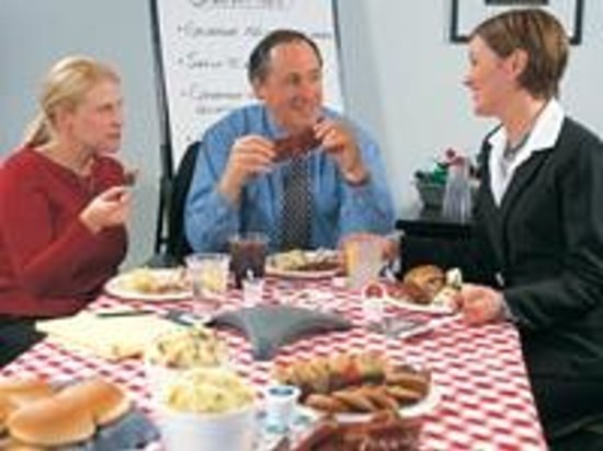 Red Hot & Blue Catering for your business meeting or family event