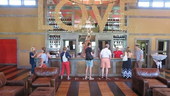 Veritas Vineyard & Winery: A wine tasting bar.