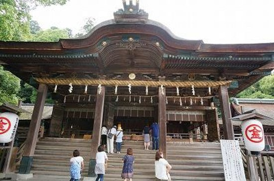 Kotohira-gu Shrine: 本宮にお参り