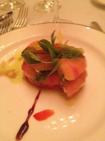 Dreams Tulum Resort & Spa : Portofino/Tomato-Basil-Mozzarella