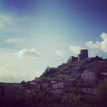 Rocca San Felice, Italy: Vista del castello