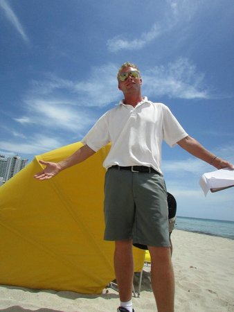 Westgate South Beach Oceanfront Resort : OUR HOSPITABLE REPRESENTATIVE, DAVID