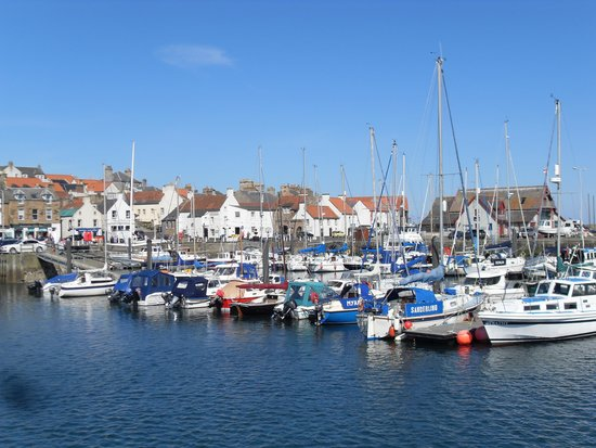 The Inn at Lathones: Anstruther Harbour on the 'Fife Coast'