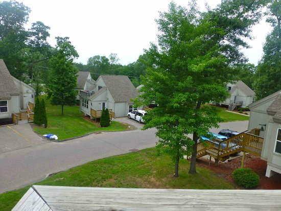 Christmas Mountain Village: 2-br. Townhome Upstairs balcony