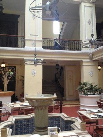 Piedra de Agua Hotel Boutique: Inside Courtyard