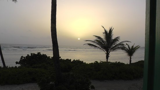 The Palms at Pelican Cove : Sunrise from hotel room