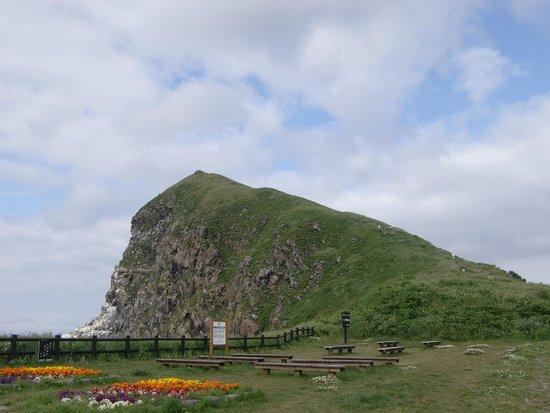 Peshi Misaki Observatory: 下から見たペシ岬