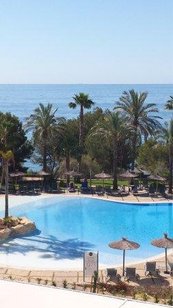 Hotel SH Villa Gadea: Vistas desde la terraza.
