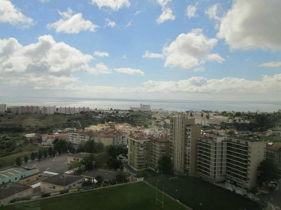 Olaias Park Hotel: View from room on the 15th floor