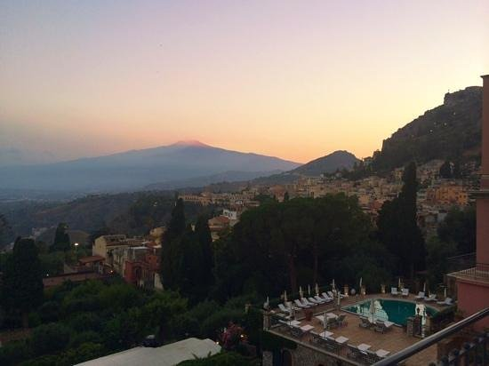 Belmond Grand Hotel Timeo: sunset.
