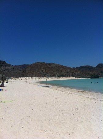 Balandra Beach : Beach to the Left