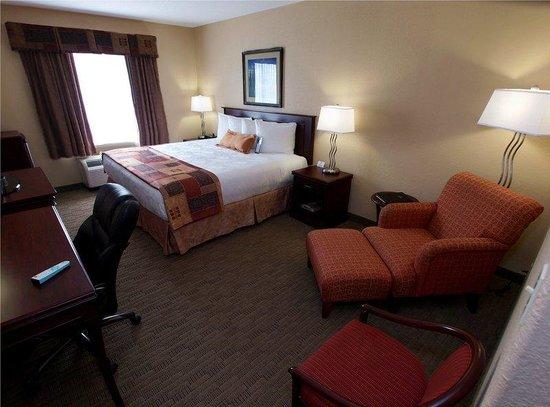 BEST WESTERN PLUS Pembina Inn & Suites: King Guest Room