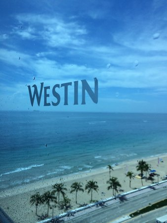 The Westin Beach Resort, Fort Lauderdale: View from my room