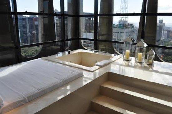 Tivoli Sao Paulo - Mofarrej: Ótimo, até no banho a vista é incrível, fiquei fascinado