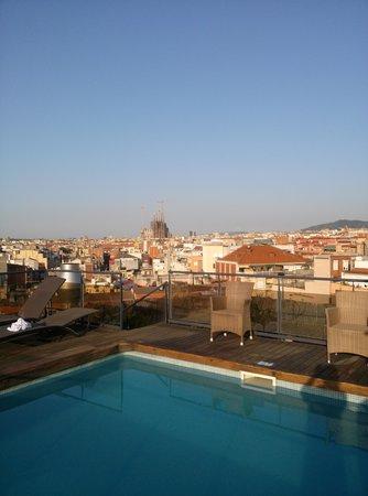 Catalonia Atenas Hotel : rooftop charm