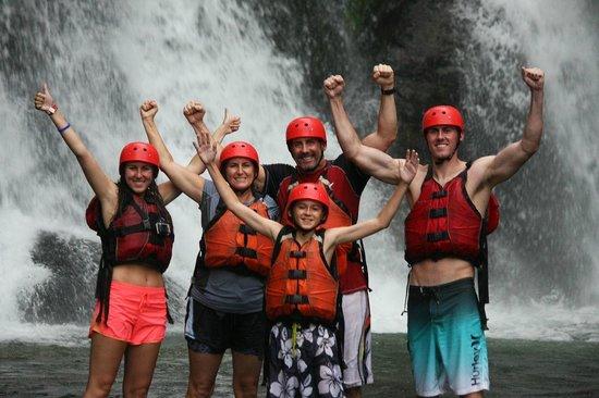 Amigos Del Rio: Break at the waterfall-Gorgeous!