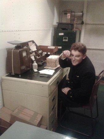 HMS Belfast: Mailroom