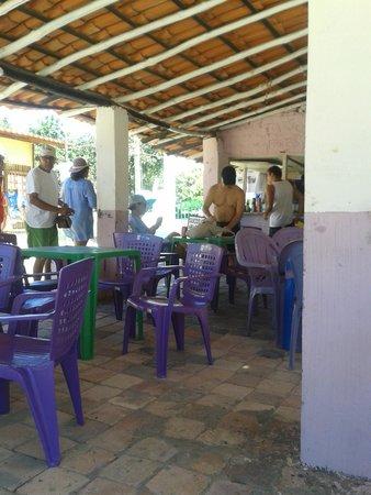 Rio Preguicas: restaurante em cabure