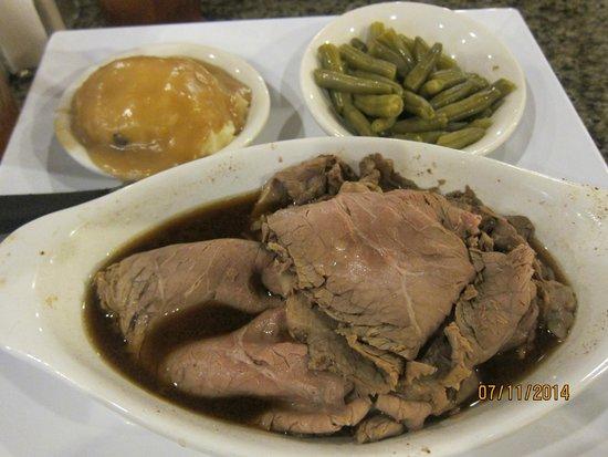 Central Park Family Restaurant: roast beef