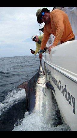Sport Fish Panama Island Lodge: Brothers Jeffrey and Charlie