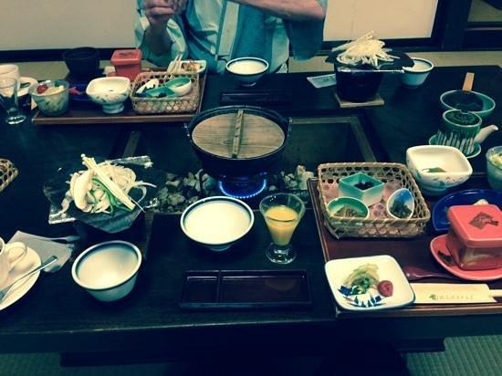 Hodakaso Yamanoiori: Breakfast!