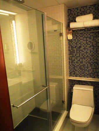 Novotel Century Hong Kong : Bathroom - shower/toilet