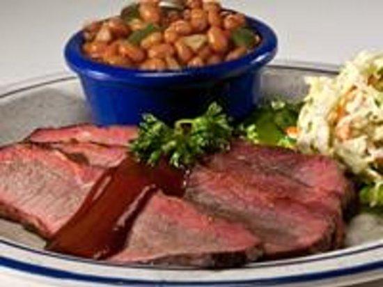 Red Hot & Blue: Oh-so-tender Beef Brisket Platter