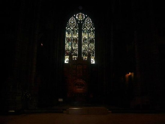 Liverpool Cathedral: Stain Glass