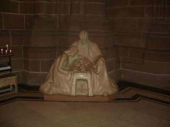 Liverpool Cathedral: The Holy Family