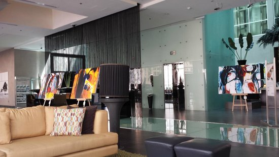 Centro Barsha : Reception Area..