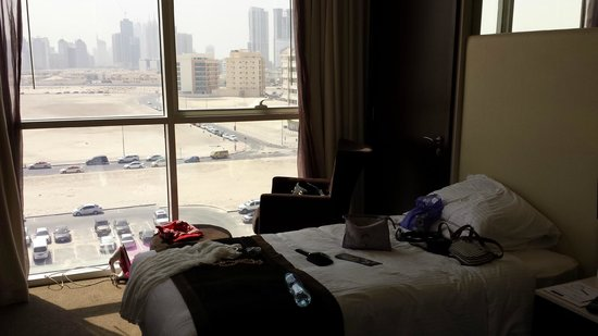 Centro Barsha: Nice View outside the room..