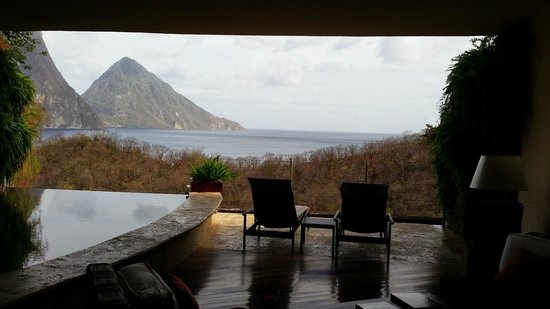 Jade Mountain Resort: View