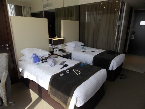 Centro Barsha: Twin Room Beds...