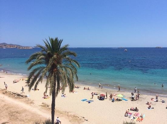 Hotel Garbi Ibiza & Spa: view from balcony