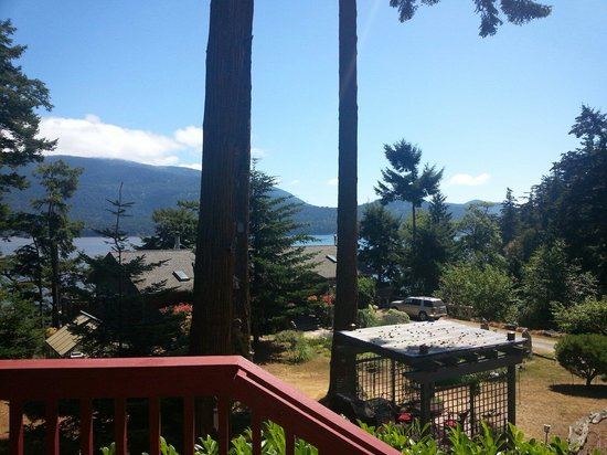 Anchorage Inn: From our deck...