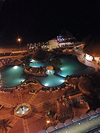 El Cozumeleño Beach Resort: Pool view from 7th floor