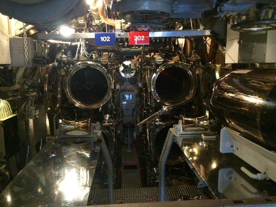USS Bowfin Submarine Museum & Park: Torpedokamer