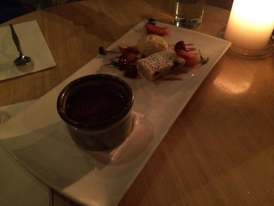 Morries (Anytime): Amazing chocolate brûlée !