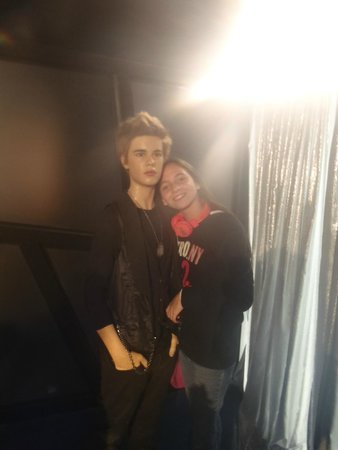 Madame Tussauds New York : justin