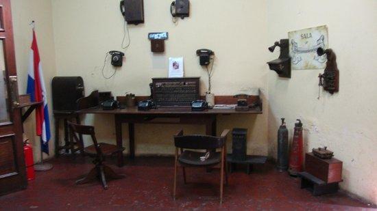 Museo de la Estacion Central del Ferrocarril Carlos Antonio Lopez : Sala de comunicações