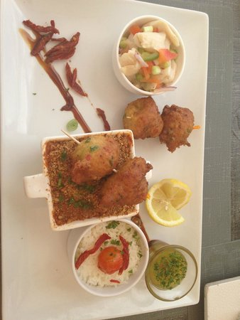 Dreams Beach Bar & Restaurant: conch three ways