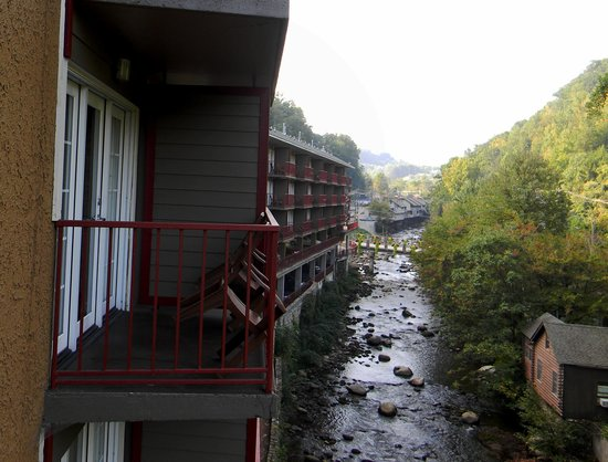 Baymont Inn & Suites Gatlinburg On The River: Our View