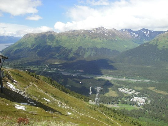 Alyeska Ski Area: Alyeska Top View 1