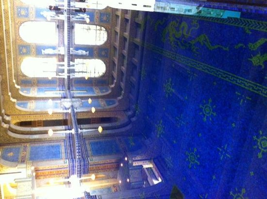Hearst Castle: the indoor pool